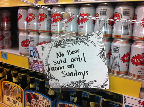 No Beer Until Noon