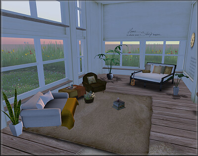Lolita Oleander's Livingroom