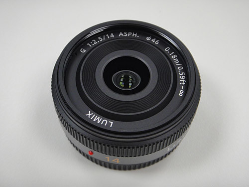 14mm/F2.5 ASPH. 餅乾鏡
