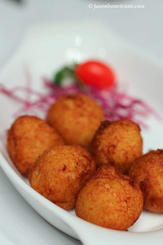 Deep Fried Portuguese Cod Fish Balls