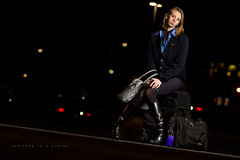 044/365 Patience Is A Virtue (matthewcoughlin) Tags: wings waiting boots bokeh skirt luggage bags patience speedlite offcameraflash flightattendent strobist 430exii canon7d 3652011 2011inphotos