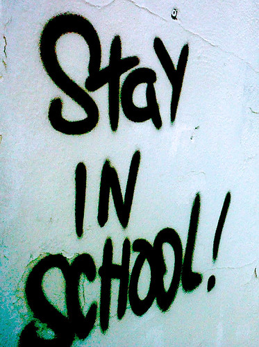 Stay In School DECOY Washington DC Graffiti