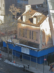 35 Cooper SQ.: Destroyed Roof