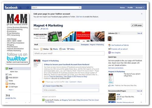 M4M Facebook Page