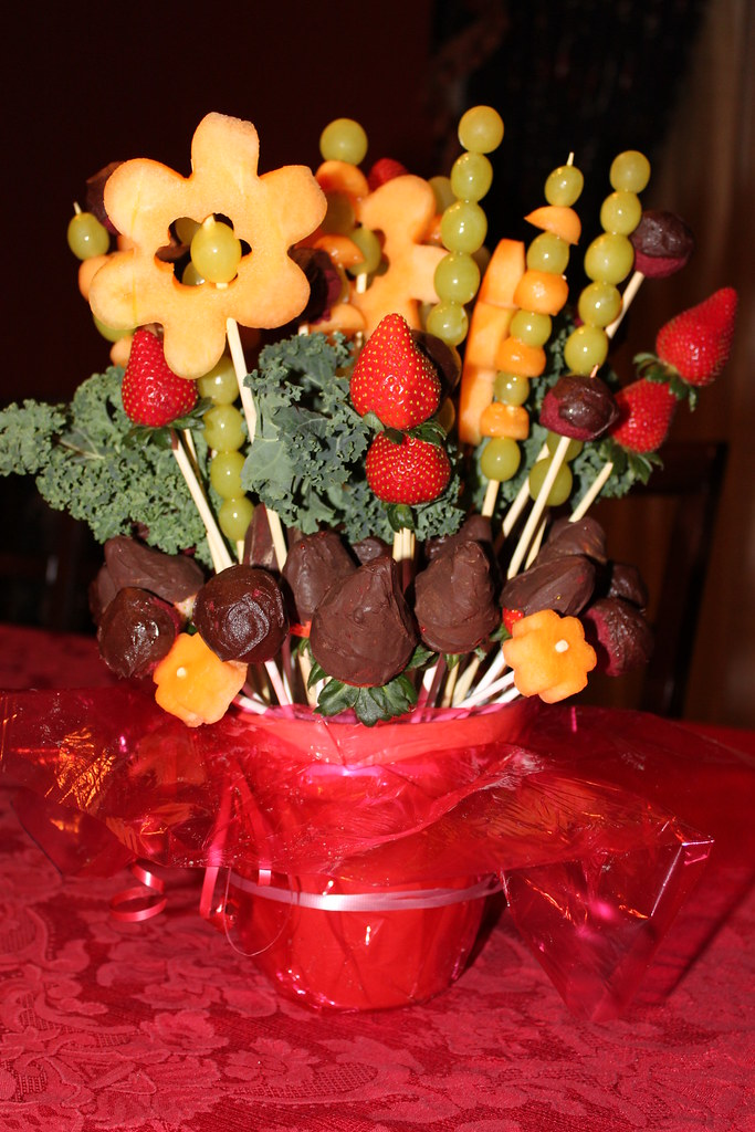 Chocolate Covered Fruit Bouquets Fruit Bouquets