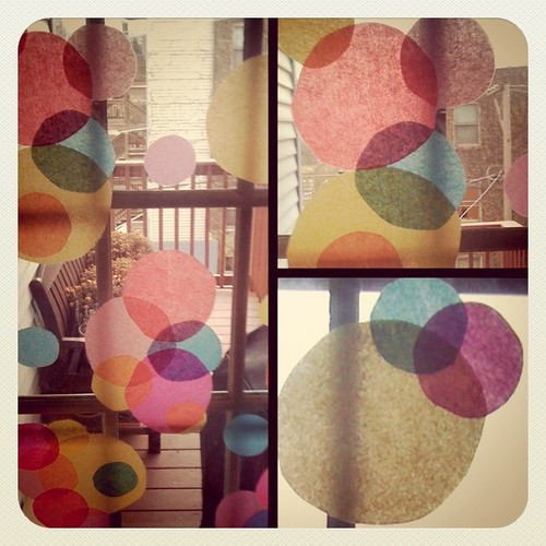 Pretty window circles - a glimpse at tomorrow's post...
