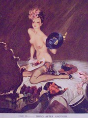 One d... thing after another (Martha-Ann48) Tags: ladies artist risque lovelies calendars davidwright 195051