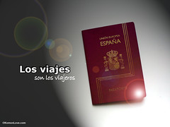 Los viajes son los viajeros (KomonLove) Tags: travel traveller viajes journey romantic passport viajar pasaporte viajeros