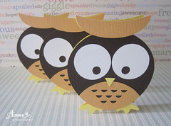 Owl mini cards
