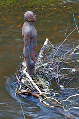 Man (pampossum) Tags: portrait edinburgh waterofleith gormleystatues gormley3
