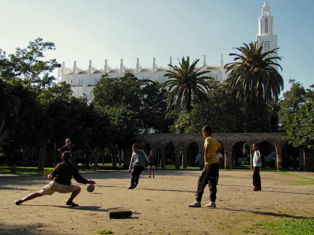 Casablanca - A angustia do guarda-redes na marcação do penaty !!
