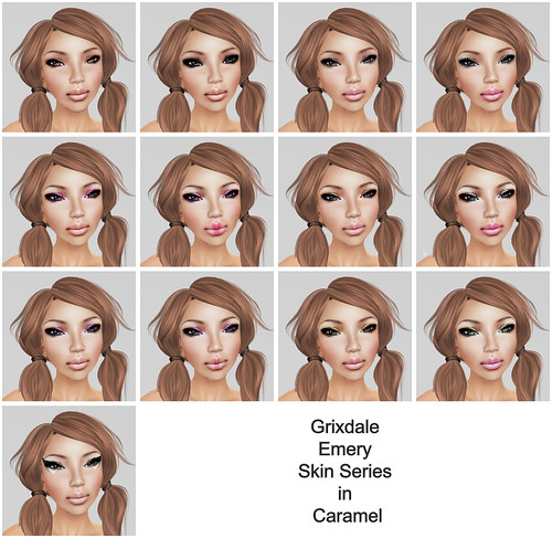 Grixdale - Emery  - Caramel (Skin Fair 2011)