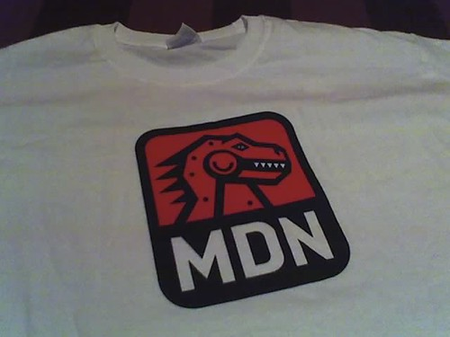 MDN t-shirt front