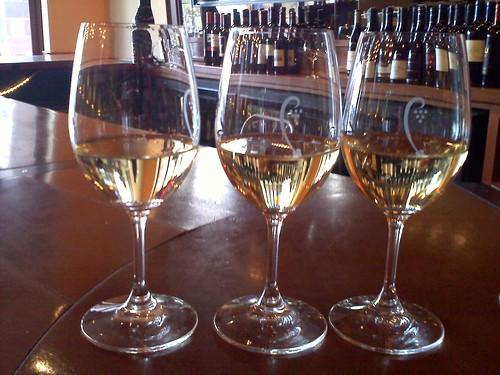 Wine Flight at Cru