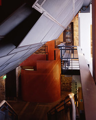 View of Stairwell - Photograph by Allan Forbes