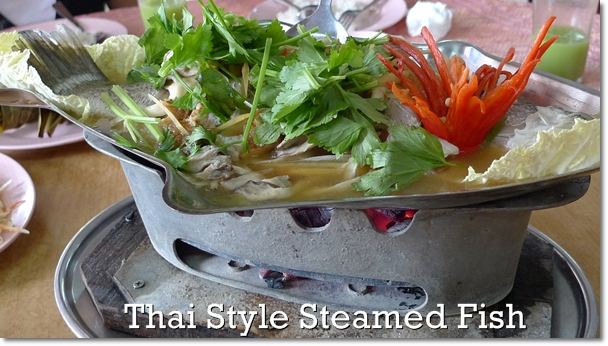 Thai Steamed Fish