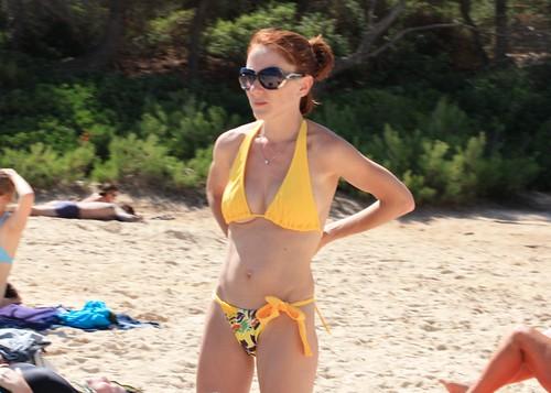 sexy nude voyeur beach sunbathing pics: nudebeach