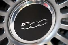 Fiat 500 Wheel (Joshishi) Tags: auto show new chicago cars illinois fiat 500 2011 105mmf28dmicro