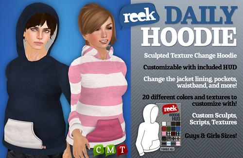 Reek - Daily Hoodies