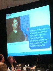 Matt Cutts Quote at SearchFest 2011