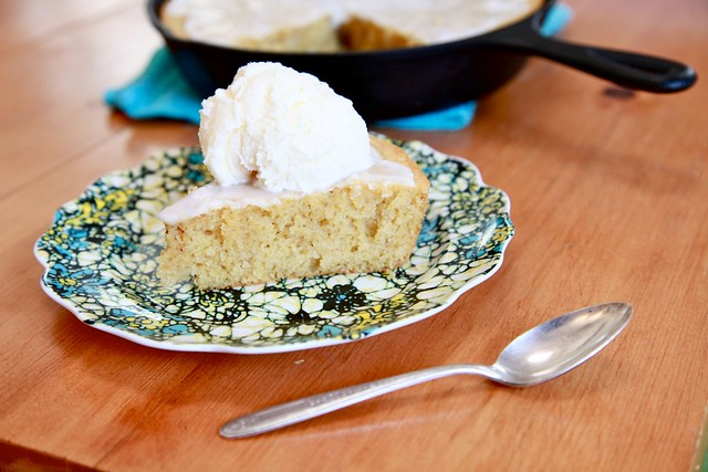 Lemon Cornmeal Breakfast Cake
