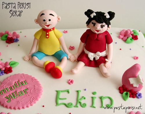CAİLLOU CAKE - EKİN 6ST BIRTHDAY