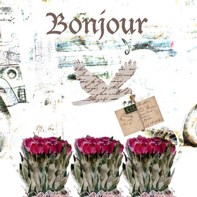 bonjour with my bicycle background
