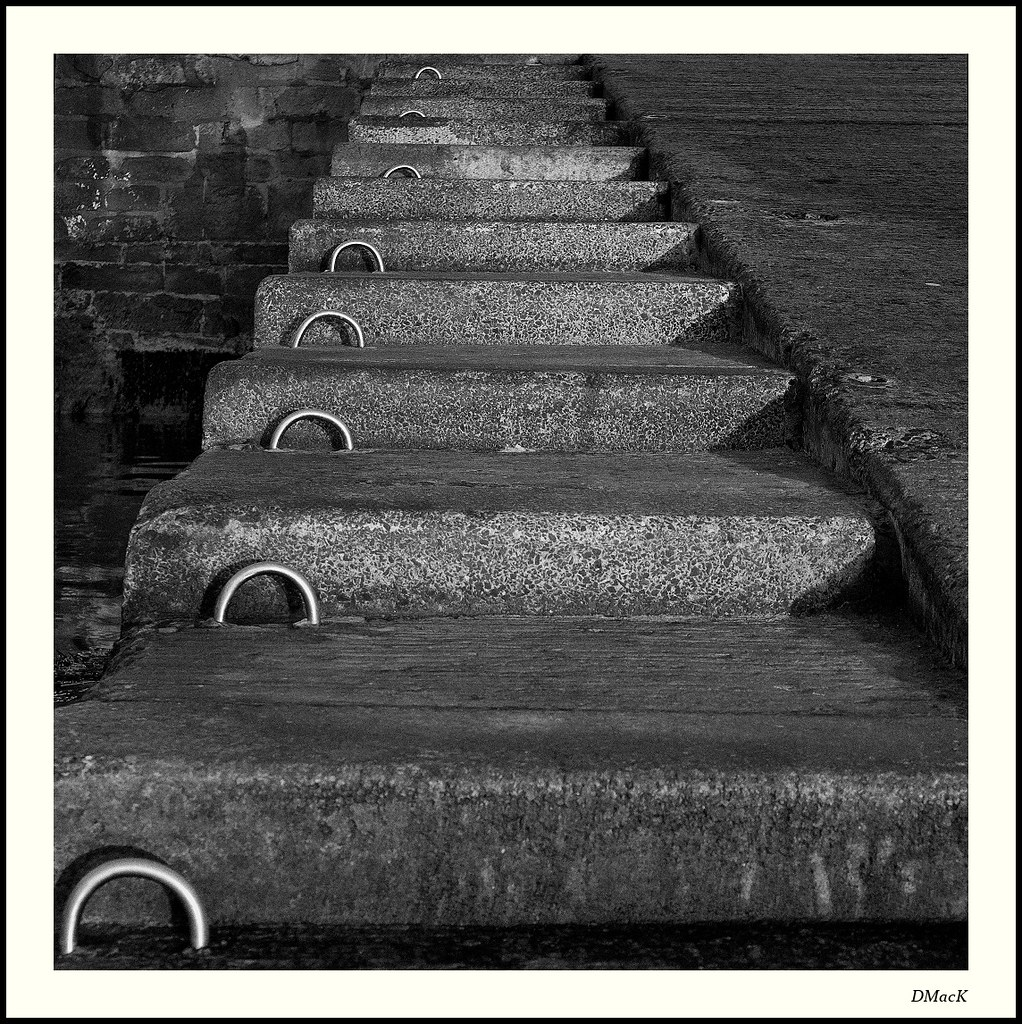 Harbour Steps, Seahouses, Northumberland