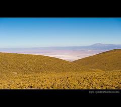 Vista del Salar de Atacama (josefrancisco.salgado) Tags: chile road mountain nikon desert carretera hill desierto nikkor montaña salar cl loma sanpedrodeatacama salardeatacama saltflat desiertodeatacama atacamadesert repúblicadechile reservanacionallosflamencos republicofchile d3s 2470mmf28g iiregióndeantofagasta provinciadeelloa osftoaosroad