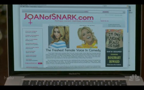Joan of Snark & Macbook Pro - 30 Rock - TGS Hates Women
