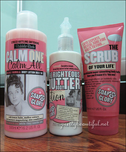 Soap & Glory Range