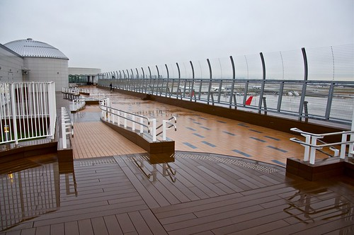 Haneda international terminal terrace