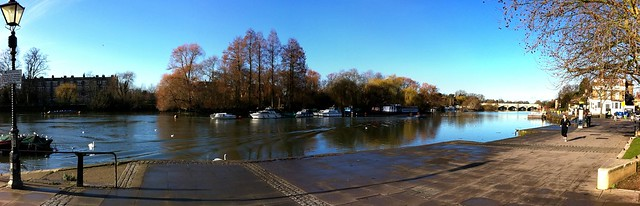 Beautiful Weather in Richmond, London - Thames