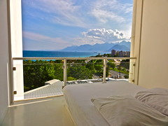 Hillside SU View (Dr.Sheetrock) Tags: turkey hotel coast mediterranean view sony line resort antalya stunning su hillside turkish turk dschx5v hx5v