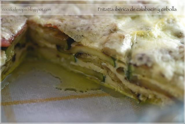 Fritatta iberica calabacín_2