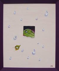 Wassertropfen (Irmela Hauffe) Tags: blatt wassertropfen irmelahauffe