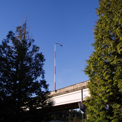 Lightpole at I-90 Interchange - Bellevue WA