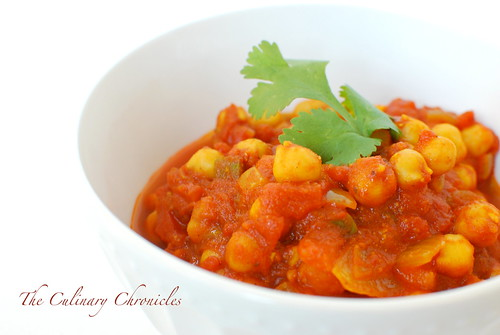 Channa Masala (Spicy Chickpea Curry)