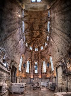 The Carmo Chapel - Igreja do Carmo - (HDR Lisbon, Portugal)