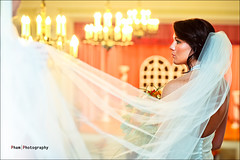 Lindsey Bride ~ The Balcony (~Phamster~) Tags: lighting wedding church canon bride speedlight 35l phamster