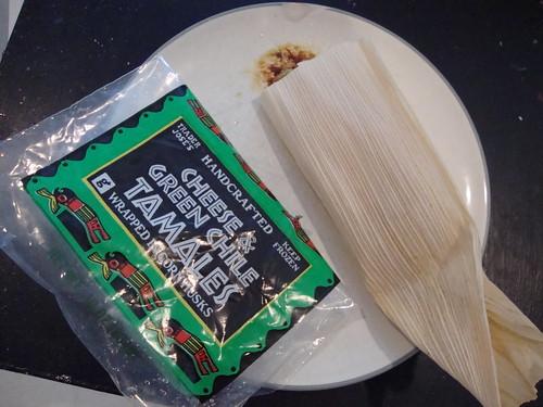 tamales for dinner