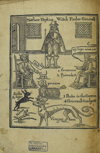 Frontispiece of The discovery of witches