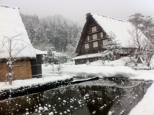 Shirakawa-go in the morning 2