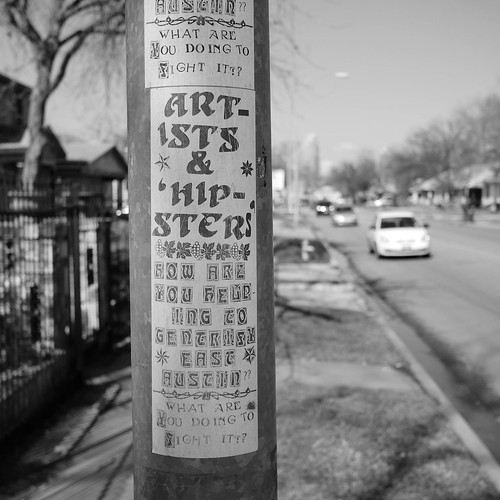 Artists & 'Hipsters' // East Austin