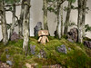 (greenplasticamy) Tags: trees tree japan toy lumix japanese robot amazon mini panasonic cardboard micro bonsai bonsaitree 20mm figurine 43 danbo f17 amazoncojp gf1 mft revoltech danboard micro43 minidanboard minidanbo dmcgf1