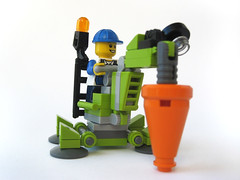 Power Minors Debris Driller (nolnet) Tags: power lego minors