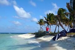 Tobago Cays - February, 2010 (RodaLarga) Tags: kite jumping grenadines kitesurf tobagocays