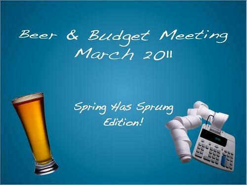 Beer & Budget Slide 1