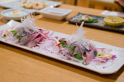 在北海道吃到最好吃的生魚片