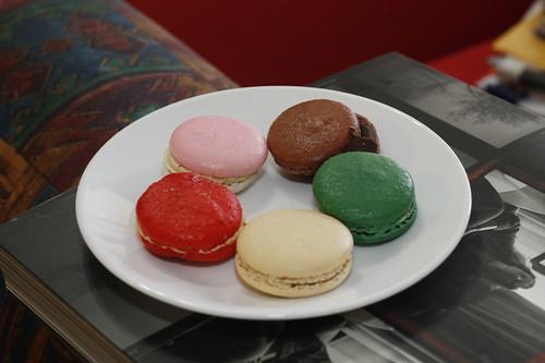 Macarons from Adriano Zumbo